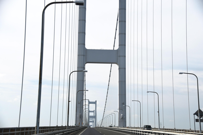 つり橋からの風景