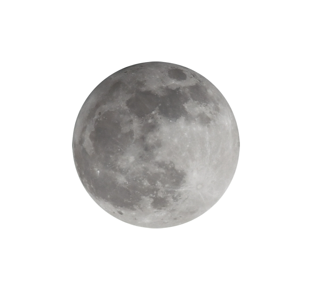 【切り抜き】満月