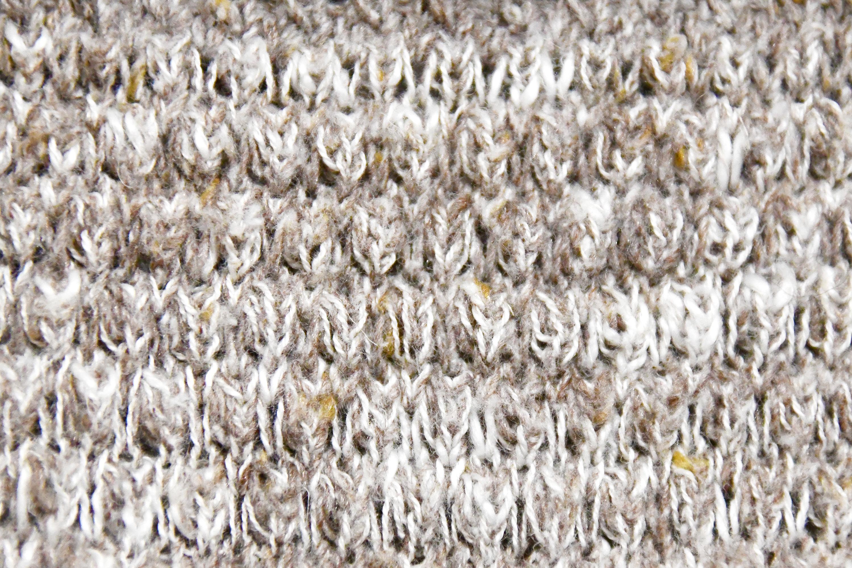黄色の毛糸の背景