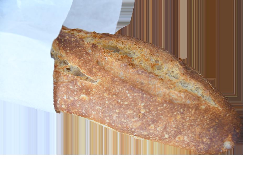 【切り抜き】袋に入ったフランスパン