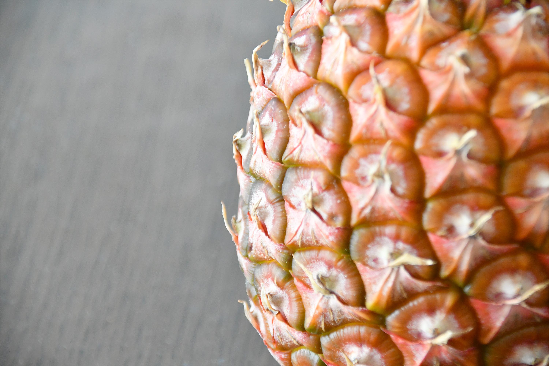 パイナップルの表面