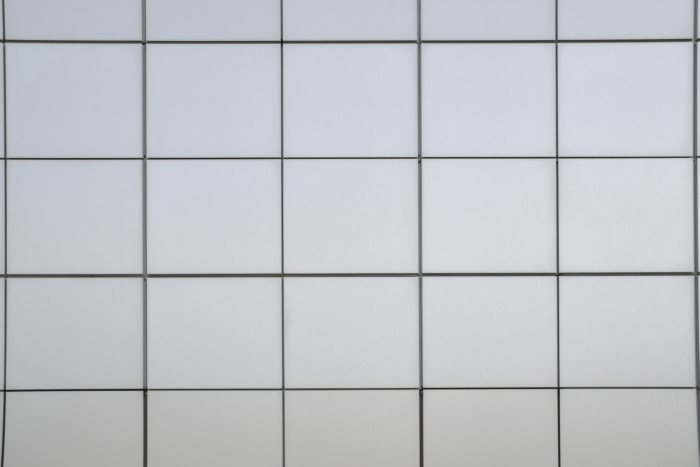 白いタイルの背景