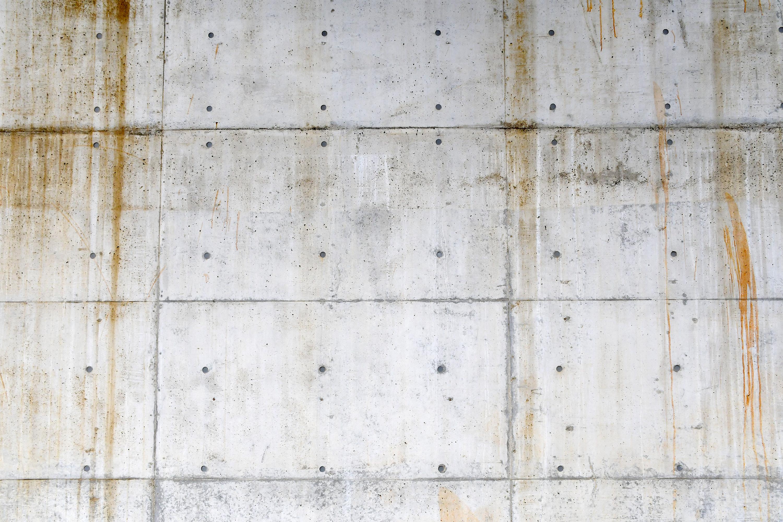 汚れたコンクリートの壁2
